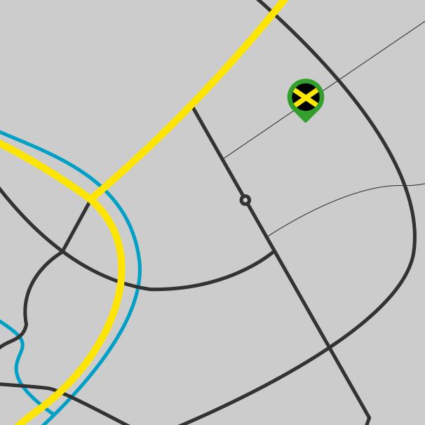 Standortkarte All Jerk Empire in Hoyerswerda
